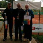 Najboljši na Mastersu 2015. Z leve: Ivan Radež 2.mesto, Robert Škof 1. mesto, Boris Šepetavc 3.mesto