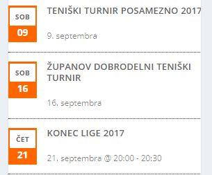 Dogodki v avgustu