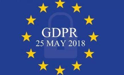 GDPR – 25. MAJ 2018
