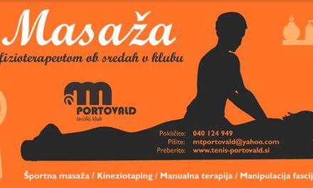 NOVO V KLUBU –  MASAŽA