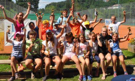 5-dnevne počitnice s šolo tenisa so uspešno zaključene 2019