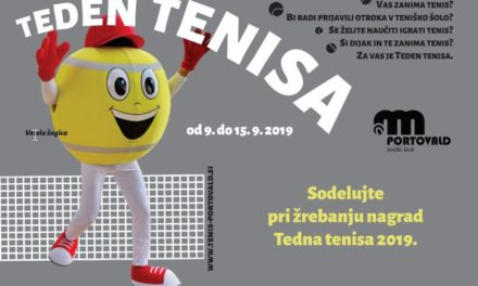 TEDEN TENISA V NOVEM MESTU-VIDEO