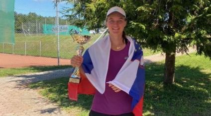 ITF Krka Open Otočec – ŽIVA ZMAGOVALKA