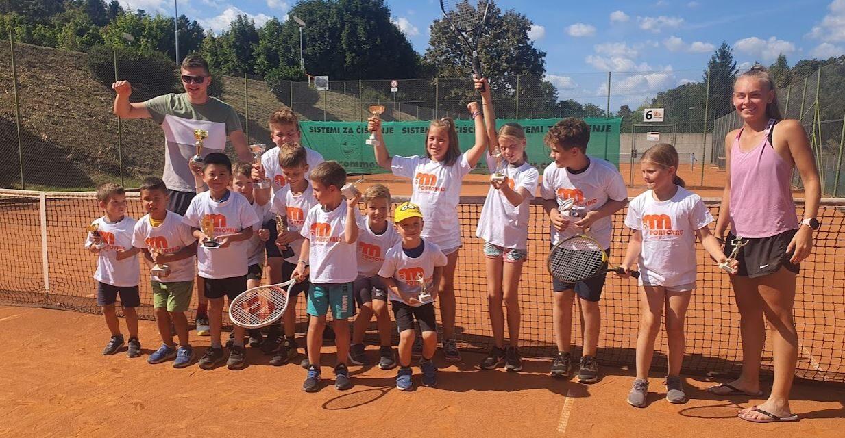 5-dnevne počitnice s šolo tenisa  – USPEŠNO ZAKLJUČENE
